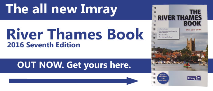 Introducing the New 2016 Seventh Edition Imray River Thames Book
