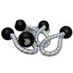 "Elastic Ball Loops 75mm (3"") - Pack of 5"