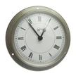Barigo Clock - Stainless Steel