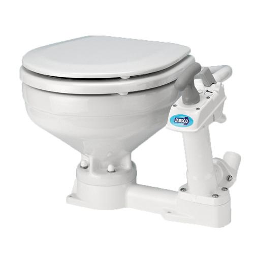 Jabsco Compact Bowl Manual Twist N Lock Toilet
