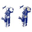 British Seagull 'Man' Logo Sticker
