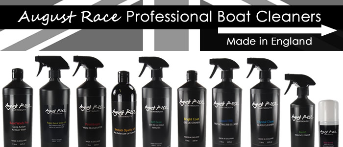 Shine for the summer with the latest professional boat cleaners from August Race, Dartmouth, England. Shop Now.