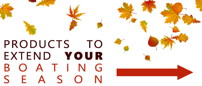 Extend your boating season this Autumn with boat heating and repair parts.