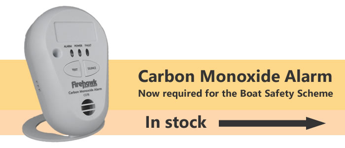The Boat Safety Scheme now requires a carbon monoxide alarm to be fitted to boats with accommodation subject to the regulations.