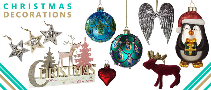 New to 2020 our Christmas decorations range! From elegant Christmas tree baubles to lovely front door wreaths our range is here to make you smile this Christmas. Explore!