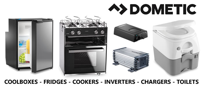 Introducing our new Dometic products that are now available in store. Coolboxes, fridges, cookers, inverters, chargers & toilets.