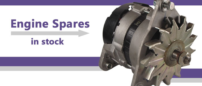 Lots of marine engine spares are kept in stock ready to keep you moving!