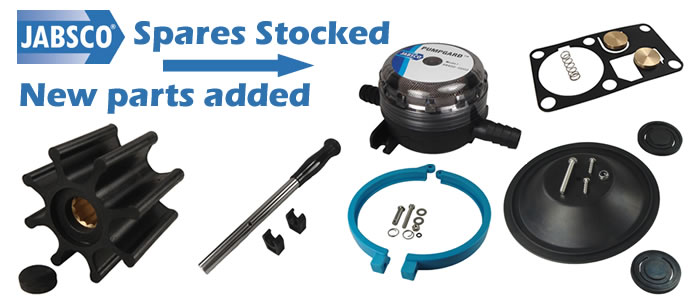 Repair, maintain and renew Jabsco hardware with replacement impellers, service kits and new pumps.