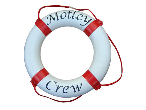 "Personalised Life Ring - ""Motley / Crew"""