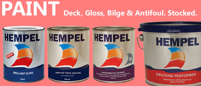 Freshen up your paint work from high gloss paint to antifouling & deck paint.