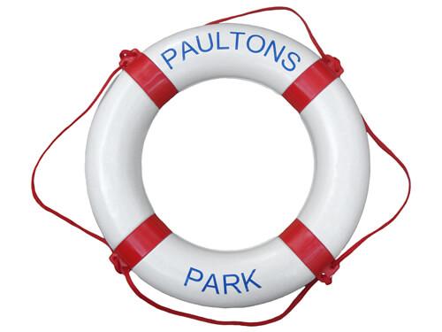 "Personalised Life Ring - ""Paultons / Park"""