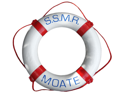 "Personalised Life Ring - ""S.S.M.R. Moate"""
