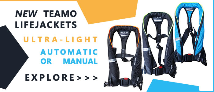 Introducing the TeamO Micro Ultra-Light 170N Lifejacket range. Available as automatic or manual options.