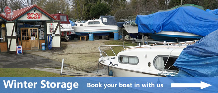 Limited spaces available for winter storage this year, contact us to book in.