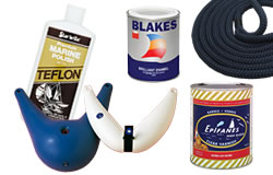 General Chandlery, Starbrite cleaners, Blakes Marine Paint, Epifanes Varnish, Fenders and more.