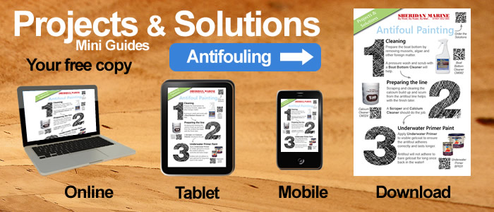 Projects & Solutions Mini Guides -  Antifoul Painting Projects & Solutions, available online, on tablets, on mobiles and for download.