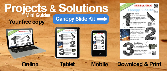 Projects & Solutions Mini Guides -  Canopy Slide Kit Projects & Solutions, available online, on tablets, on mobiles and for download.