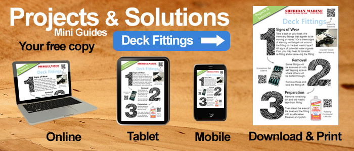 Projects & Solutions Mini Guides -  Deck Fittings Projects & Solutions, available online, on tablets, on mobiles and for download.