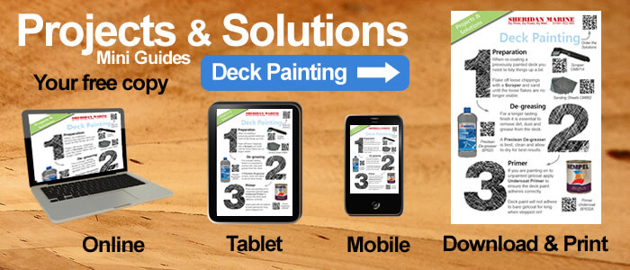 Projects & Solutions Mini Guides -  Deck Painting Projects & Solutions, available online, on tablets, on mobiles and for download.