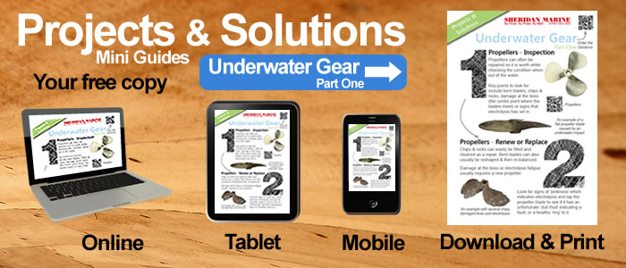 Projects & Solutions Mini Guides -  Underwater Gear Projects & Solutions Part One, available online, on tablets, on mobiles and for download.