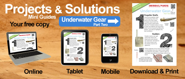 Projects & Solutions Mini Guides -  Underwater Gear Projects & Solutions Part Two, available online, on tablets, on mobiles and for download.