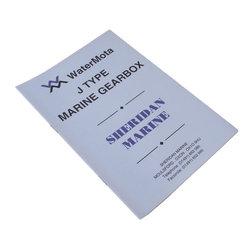WaterMota J-Type Gearbox Manual