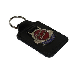 Freeman Leather Keyring