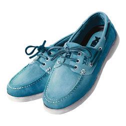 Deck Shoes - Ladies Sky Blue 3.5