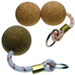 Floating Cork Ball Keyrings