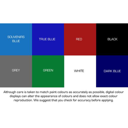 True Blue Paint Colour