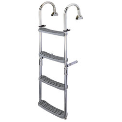 Boarding Ladder 180o - 2 Fixed + 2 Folding Steps