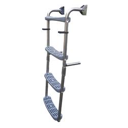 Boarding Ladder 90° - 2 Fixed + 2 Folding Steps