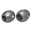"""Aluminium (Hybrid) 'Golf Ball' Shaft Anode - 25mm (1"""")"""