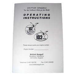British Seagull Outboard Owners Handbook - Model 102