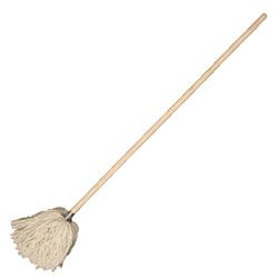 Cotton Deck Mop & Handle