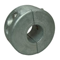 """Zinc (Salt Water) 'Collar' Shaft Anode - 25mm (1"""")"""