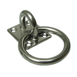Stainless Steel Mooring Ring & Base