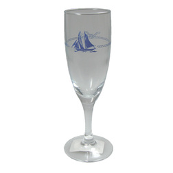 Champagne Glass - Ship Design