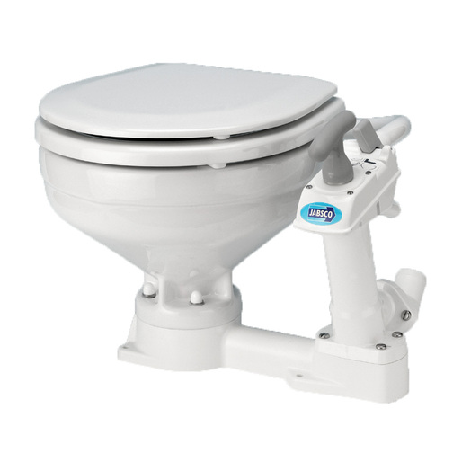 Jabsco Compact Bowl Manual Twist N Lock Toilet