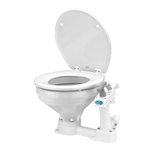 Jabsco Regular Bowl Manual Twist N Lock Toilet