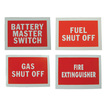 BSS Label - Battery Master Switch