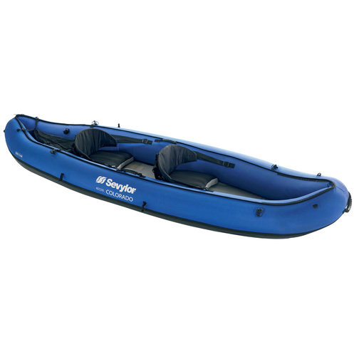 sevylor colorado two seater inflatable kayak sheridan marine. Black Bedroom Furniture Sets. Home Design Ideas