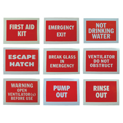 Information Label - First Aid Kit