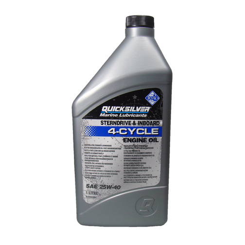 Quicksilver Sterndrive Amp Inboard 4 Cycle Engine Oil