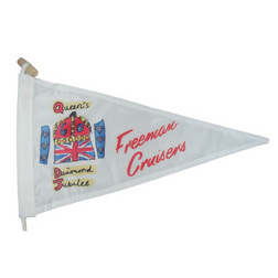 Freeman Cruisers Queens Diamond Jubilee Burgee