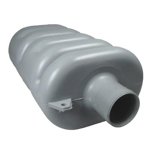 Wet Exhaust Exhaust Silencer 50mm