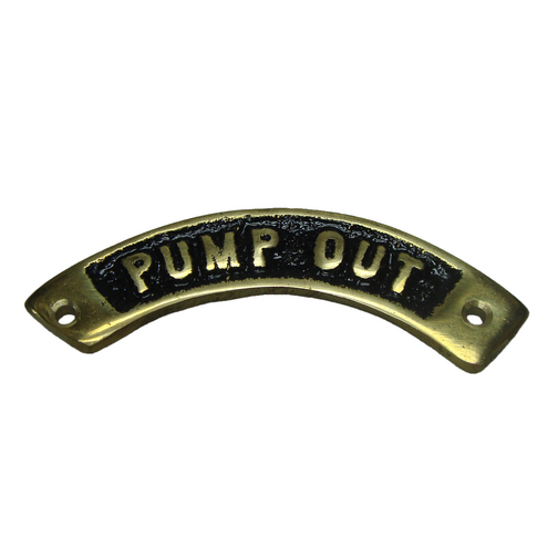 Curved Brass Deck Filler Name Plates Sheridan Marine