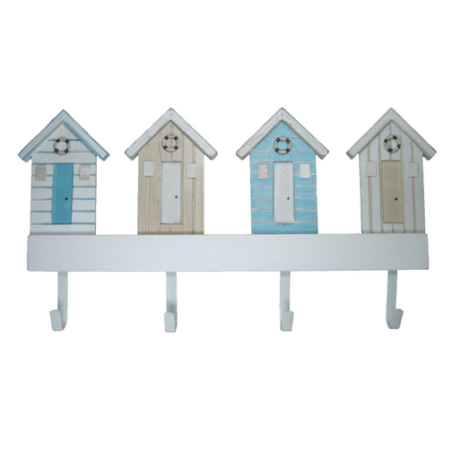 Shabby Chic Beach Hut Hook Rack Sheridan Marine