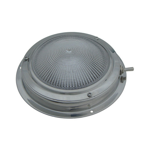 Switched LED Warm White Stainless Steel Cabin Light ...