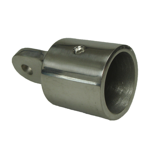 "TUBE 1/"" END CAP A STAINLESS STEEL CAST END CAP 1"" or 25.4mm TO FIT 1/"" 25mm BAR"